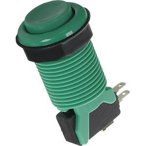 Arcade Button mit Mikroschalter, grün JOY-IT BUTTON-GREEN