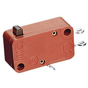 Snap-action switch, 10 A - 400 V ~ changer, solder MARQUARDT 01005.0401-01