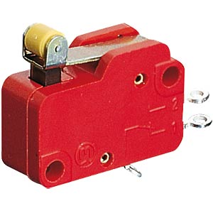 Schnappschalter 1xUM 10A-400VAC Rollenhebel MARQUARDT 01006.0701-01