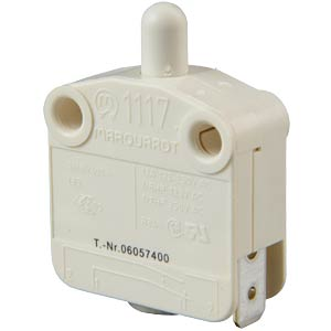 Snap-action switch, 10 A - 400 V ~ N/C, socket connection MARQUARDT 01117.0206-01
