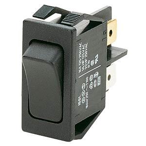 Wippschalter, 1-pol, AUS, schwarz MARQUARDT 01551.3102-00