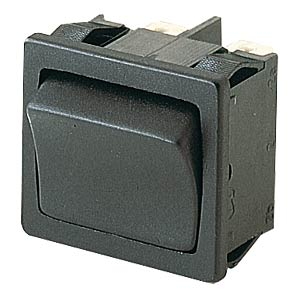 Rocker switch, 2-pin, UM, black MARQUARDT 01804.1102-00