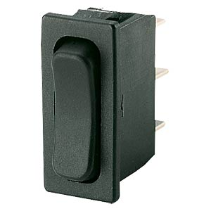 Rocker switch, 1-pin, OFF, black MARQUARDT 01838.1402-01