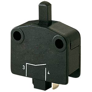 snap-action-switch, NC, 16 A-400 V AC, Faston MARQUARDT 01115.2101-02