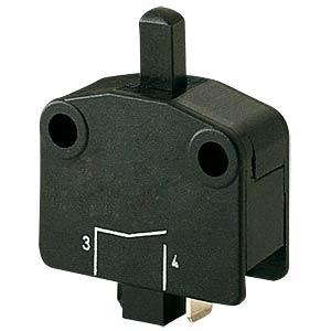 Geräteschalter 1x Ein 16A-400VAC schwarz MARQUARDT 01115.4101-02