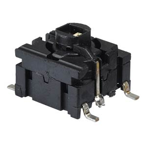 5G Multimec pushbutton - SMD, NO, LED green APEM 5GSH93522