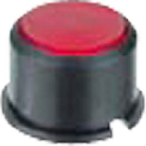 Round black cap for button 3F... MEC SWITCHES 1F091
