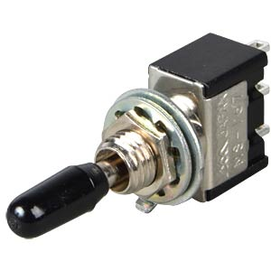 Toggle switch, 1-pin, 10 A - 125 V AC, on-off-on MIYAMA MS 167