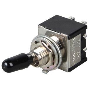 Toggle switch, 2-pin, 10 A - 125 V AC, on-on MIYAMA MS 168