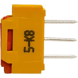 Slide switch, sub-miniature, 1x UM straight APEM NK236