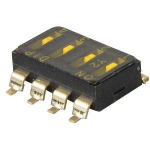 Dip switch, SMD, 4-pin FREI