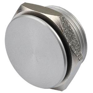 Piezotaster, Ø 18/16 mm, 1x Ein, Alu natur, Lötstifte APEM PBAT5AP0000