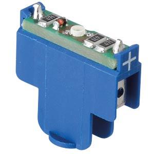 FS - LED Clip for QC Series - Blue LED, 24 V DC RAFI 5.05.511.747/1600