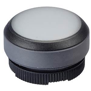 FS+ 22 - Drucktaster - rund + Schutzkappe, sw/ws, bel RAFI 1.30.270.005/2201