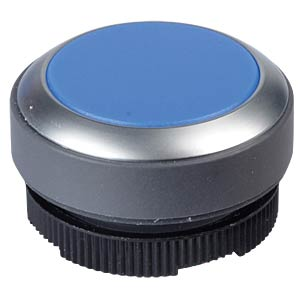 FS+ 22 — push-button — metal, blue, can be illuminated RAFI 1.30.270.021/2600