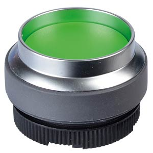 FS+ 22 - Push-Button - Metal, Green, Can be Illuminated, Protrud RAFI 1.30.270.421/2500