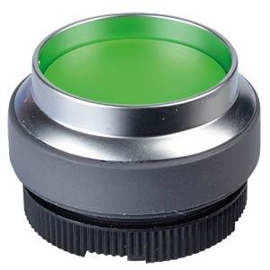 FS+ 22 - Druckschalter - metall, gn, bel, vorst. Frontring RAFI 1.30.270.421/2500