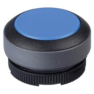 FS+ 22 — push-button — round, black/blue, can be illuminated RAFI 1.30.270.001/2601