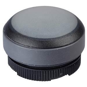 FS+ 22 - Drucktaster - rund + Schutzkappe, sw/sw RAFI 1.30.270.005/0101