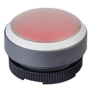 FS+ 22 - Drucktaster - rund + Schutzkappe, gr/rt, bel RAFI 1.30.270.005/2308