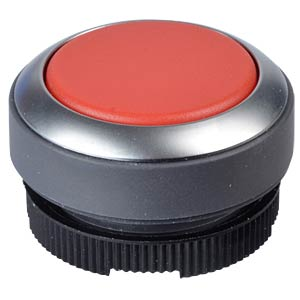 FS+ 22 — push-button — metal, red, can be illuminated, protrudin RAFI 1.30.270.221/2300