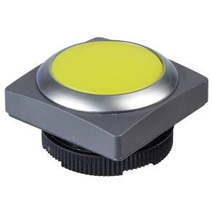 FS+ 22 - Drucktaster - quadrat, metall, ge, bel RAFI 1.30.270.071/2400