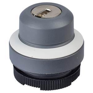 FS+ 22 - Schlüsselschalter - rund, sigr, 1x90°, Form L, 0+1 RAFI 1.30.275.221/0800