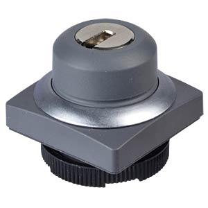 FS+ 22 - Schlüsseltaster - quadrat, metall, 1x40° RAFI 1.30.275.052/0000