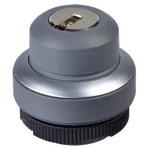 FS+ 22 - Schlüsseltaster - rund, metall, 1x40° RAFI 1.30.275.002/0000
