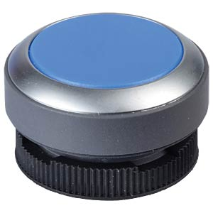 FS+ 22 - Push-Button - Metal, Blue, Can be Illuminated RAFI 1.30.270.031/2600