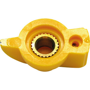 Zeigerknopf, Ø 19 mm, Achse: 6,4 mm, gb RND COMPONENTS RND 210-00271