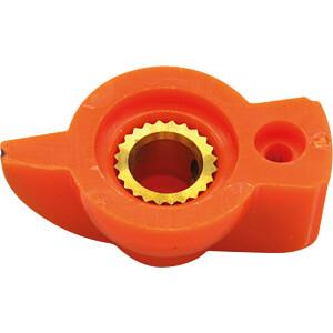 Zeigerknopf, Ø 19 mm, Achse: 6,4 mm, or RND COMPONENTS RND 210-00276