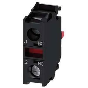 Contact module, 1 NC contact SIEMENS 3SU14001AA101CA0