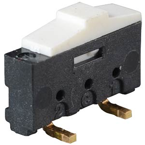 Slide switch, 1 x double-throw switch, upright, SMD EXCEL CELL ELECTRONIC ESP3020