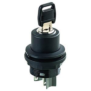 Schlüsselschalter - 2 S, schwarz SCHLEGEL SSWSSA15II
