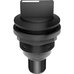 Selector switch - 2 S, black SCHLEGEL SSWWBII_C009