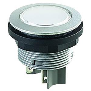 Drucktaster - 2 S, silber SCHLEGEL STII