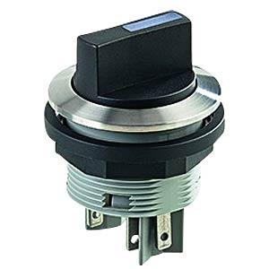 Illuminated Selector Switch, momentary SCHLEGEL SVASTBLII