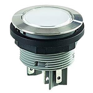 Drucktaster - 1 S, 1 Ö, LED weiß, Edelstahl SCHLEGEL SVATLOI