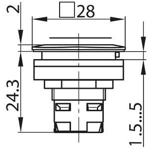 Drucktasten  RONTRON-R/Q-JUWEL SCHLEGEL TA_RQJTLR