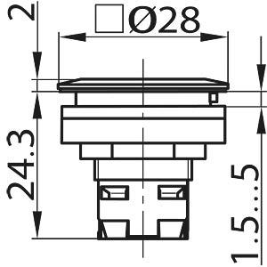 Drucktasten  RONTRON-R/Q-JUWEL SCHLEGEL TA_RRJTLR