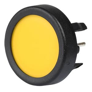 Schurter button 1241.1104.7091, yellow