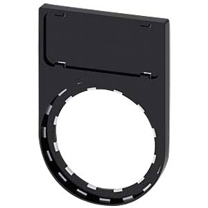 Label holder, black, snap-on SIEMENS 3SU19000AR100AA0