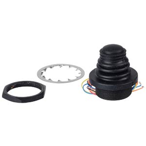 Thumb joystick with pushbutton, 0.5 - 4.5 V APEM TS-6T2S02A