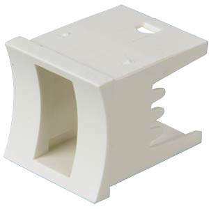 Unimec housing, white MEC SWITCHES 16.324-1