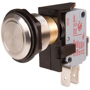 Tamper button, single pin ON -- (ON) ARCOLECTRIC C0911VAAAA