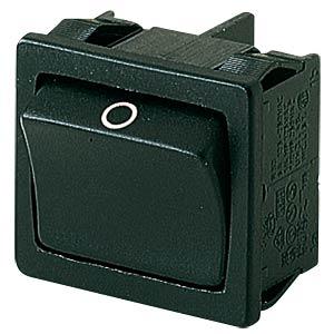Wippschalter, 2x Aus, schwarz, I-O MARQUARDT 01802.3102-01