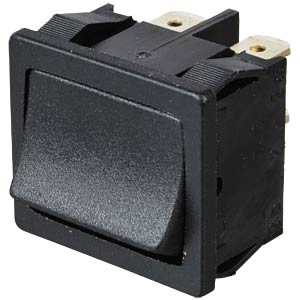 Rocker switch, 1-pin, OFF, black MARQUARDT 01801.1102-01