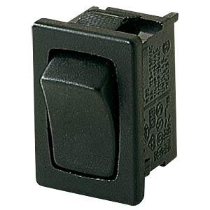 Wippschalter, 1x UM, schwarz MARQUARDT 01803.1202-01