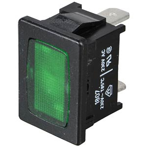 Light, plug-in, 4.8, 230 V, green MARQUARDT 01807.1108-01